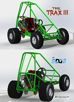 Full plans for Trax III DIY Plans Off Road Go Kart Blueprints