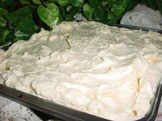 This cake has many names according to the newspaper, Pig Pickin Cake, Turkey Cake, Sunshine Cake or Nancy Ware Cake. This cake must be kept refrigerated.