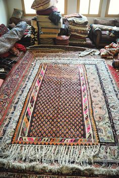 Vintage 3.10 x 8.10 Persian Kilim Rug/Runner by DamavandTradingCo
