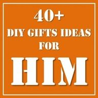 A round of crafts ideas to make for HIM- be it your partner, brother, father  or for the kids to help make for Fathers Day. Something for everyone! I would love to hear what you have made in the past.. men can be SO hard to craft for!