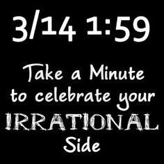 Pi Day Irrational Tee by robwilliams_geek_shop