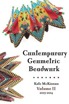 Contemporary Geometric Beadwork, Volume II by Kate McKinnon Seed Bead Jewelry, Seed Beads, Beaded Jewelry, Beaded Bracelets, Jewellery, Kate Mckinnon, Wire Crochet, Triangle Necklace, Peyote Patterns