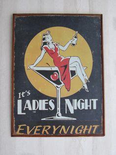 Ladies night everynight