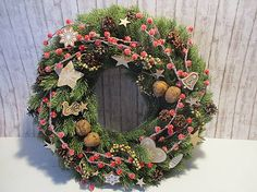 byMajka / Vianočný veniec Vidiecky