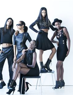 All Black Everything, You Got This, Editorial, Magazine, Boutique, Printed, Style, Fashion, All Black