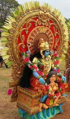 Fashion Theyyam @ Thrissurperuma