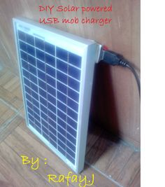 Picture of DIY Solar Powered USB Mobile Charger