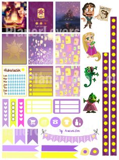 Free Printable Planner Stickers -