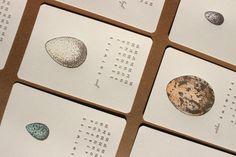 Get Inspired With A Handmade 2013 Calendar from Mink Letterpress
