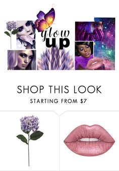 """donkerenhuid  makeup"" by deveneey-nnman on Polyvore featuring mode en Lime Crime"