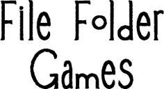 file folder games for sacrament meeting