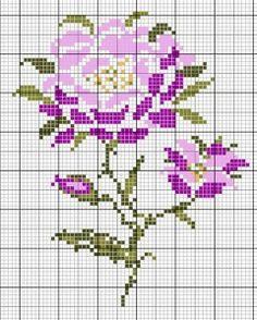 fleur flower plant broderie embroidery muguet les chroniques de frimousse point de. Black Bedroom Furniture Sets. Home Design Ideas