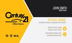 Century21 business cards free shipping online design and gold chevron century 21 business card design wajeb Image collections
