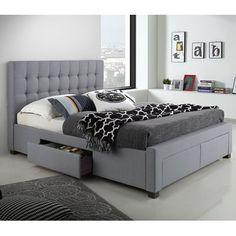 Metzinger Upholstered Storage Platform Bed By Red Barrel Studio