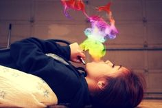colourful smoke - Google Search
