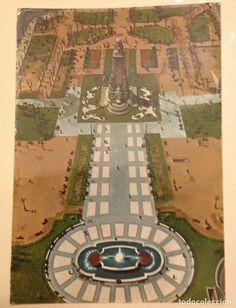 MADRID : PLAZA DE ESPAÑA 60'S - Foto 1 Plaza, Baseball Field, Gatos