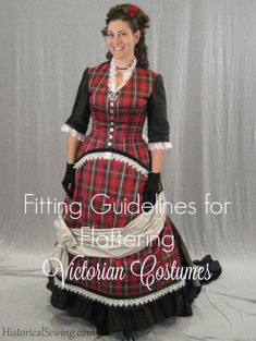 Fitting Guidelines for Flattering Victorian Costumes – Historical Sewing Fitting Guidelines for Flattering Victorian Costumes – Historical Sewing A list of free historicalFantasy Dress, Historicalgolden fields Victorian Gown, Victorian Costume, 1800s Fashion, Victorian Fashion, Historical Costume, Historical Clothing, Bustle Dress, Festival Costumes, 20th Century Fashion