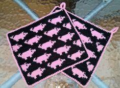 Mönster att köpa – kickas hobby Crochet Pig, Fair Isle Knitting Patterns, Fair Isles, Handicraft, Pot Holders, Ravelry, Making Tools, Blanket, Creative
