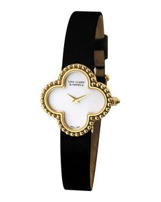 Vintage Alhambra Yellow Gold Watch, Small - Van Cleef & Arpels
