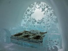 ICE SUITE at the Ice Hotel in Jukkasjärvi