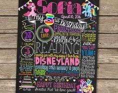 Minnie Mouse First Birthday Chalkboard  1st Birthday