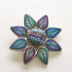 All sizes | Flower Brooch | Flickr - Photo Sharing!