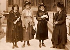 Kathleen Clarke, Countess Markievicz, Kate O'Callaghan and Margaret Pearse, c. Anglo Irish Treaty, Family History Book, History Books, Ireland 1916, Military Archives, Irish Independence, Irish Republican Army, Limerick City, 1920s Costume