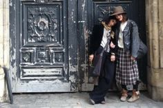 Elisa and Lily Behind the Scenes - Paris Behind the Scenes- Fashion TV Channel – Inspirational Fashion Blog