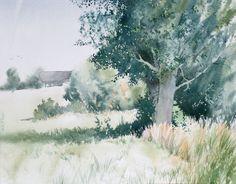 Gorska Rudera (Grzegorz Wróbel) GreeGW – Zerniki – watercolor