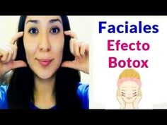 Ejercicios Cara y Cuello EFECTO BOTOX / Face Exercises - YouTube Face Care, Body Care, Skin Care, Facial Scrubs, Facial Masks, Botox Face, Beauty Care, Beauty Hacks, Face Yoga Exercises