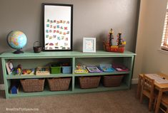 Spring Cleaning: Montessori Inspired Playroom - Happiness is Homemade