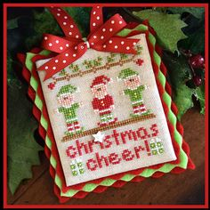 Country Cottage Needleworks Christmas Cheer - Cross Stitch Pattern.