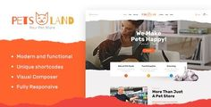 A collection of hand-picked Veterinary WordPress Themes & Templates for any pet & animal business, online shop or pharmacy. Template Wordpress, Tema Wordpress, Premium Wordpress Themes, Pet Shop, Animal Care Hospital, Pet Hotel, Pet Clinic, Pet Grooming, Animal Shelter