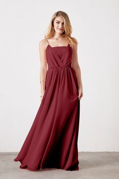 Shop Weddington Way Bridesmaid Dress - Hazel in Poly Chiffon at Weddington Way. Find the perfect made-to-order bridesmaid dresses for your bridal party in your favorite color, style and fabric at Weddington Way.