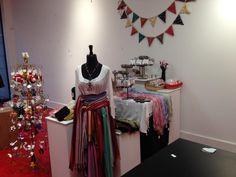 Set up our Chicago Fair Trade pop up spot. More than a dozen locally owned ethical vendors 2031 N Damen Nov 28-Dec 24