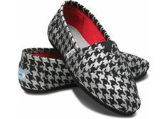 Houndstooth Toms!!! <3