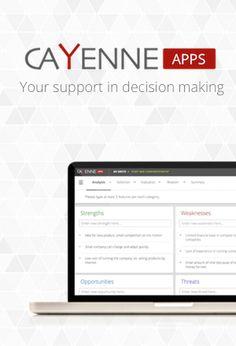 application - http://cayenneapps.com