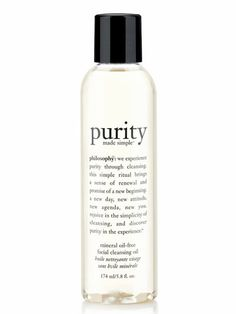 After a long night use this #Philosophy cleansing face oil to get energy. #wakeupgorgeous