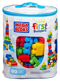 Best Christmas Gifts for 1 Year Old Boy - Mega Bloks are cool gifts for one year old boys.