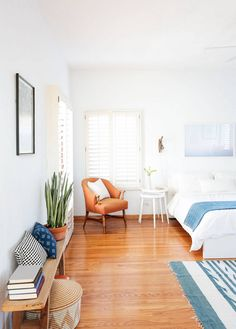 light + bright bedroom ideas
