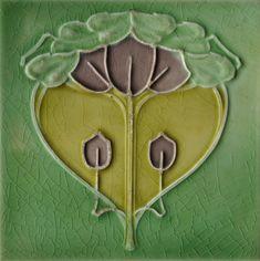 Sherwin & Cotton - RS0316 - Art Nouveau Tiles