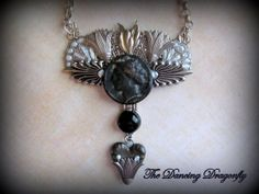 Ancient Roman Coin Collage Necklace by dragonflysublime on Etsy, $90.00