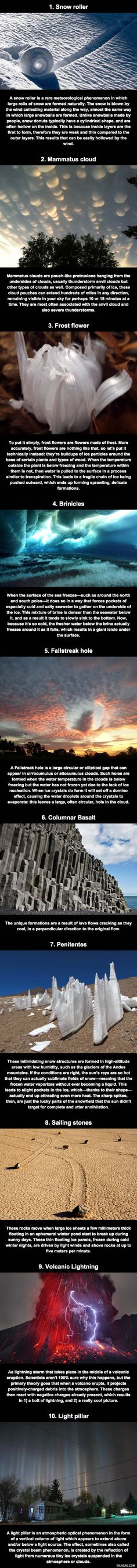 Some Ridiculously Cool Natural Phenomena