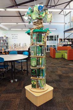 It's Green!   A whole lot of books to choose from with green covers :-)   Radford College Secondary Library