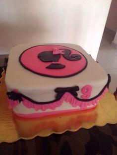 Barbie cake, torta de barbie