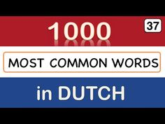 Learn Dutch language: Animals - lesson 37, 1000 Dutch words (901-925) - YouTube