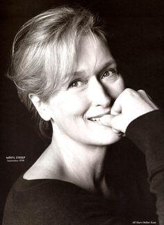 Smile for me! Meryl Streep