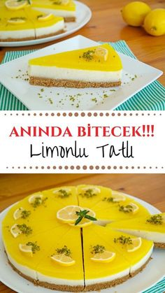 Limonlu Tatlı (videolu) – Nefis Yemek Tarifleri – How to make Lemon Dessert (with video) Recipe? Illustrated explanation of this recipe in the book of 136 people and photos of those who try it are here. Yummy Recipes, Pasta Recipes, Yummy Food, Lemon Recipes, Lemon Desserts, Köstliche Desserts, Dessert Recipes, Healthy Eating Tips, Healthy Nutrition
