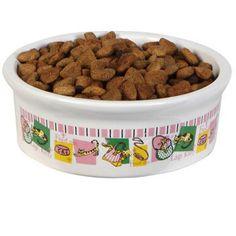 Sturdy Stoneware Pet Bowl