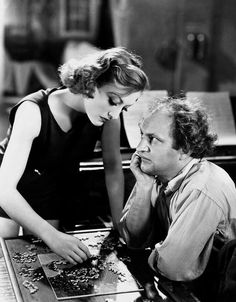 Joan Crawford and Larry Fine, Dancing Lady, 1933
